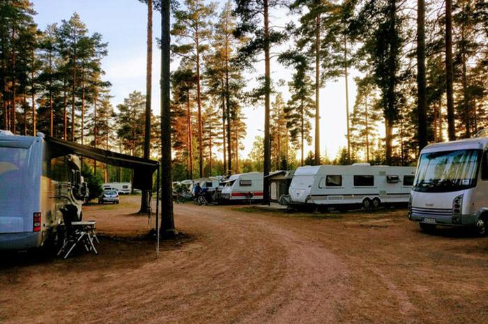 Pitkäjärvi caravan-alue